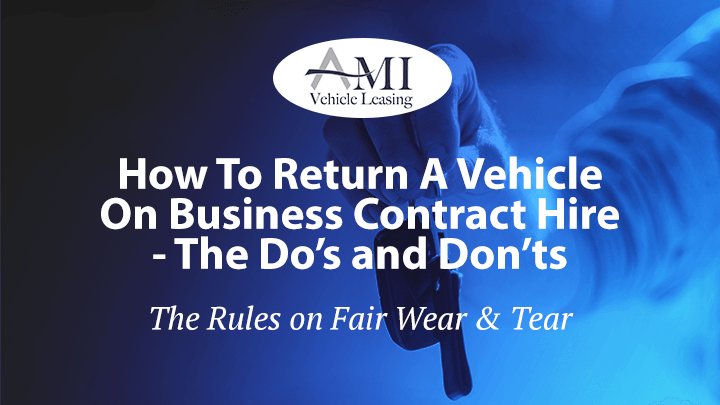 Returning A Vehicle On Business Contract
