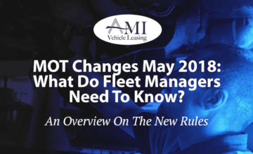 MOT Changes May 2018