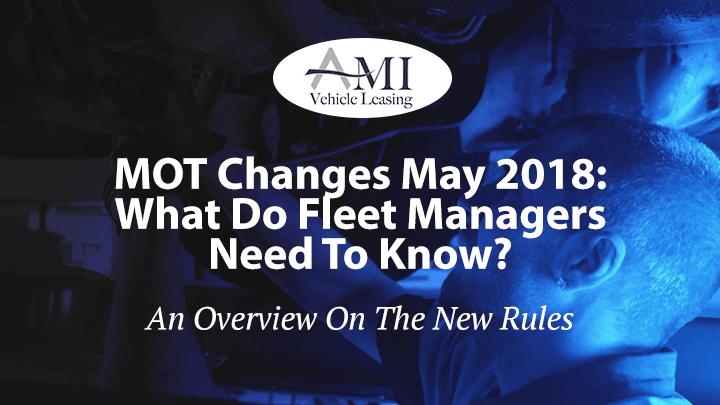 MOT Changes May 2018